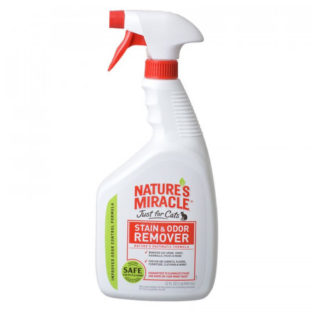 Natures Miracle Just For Cats Stain & Odor Remover alternate img #1