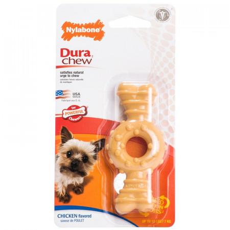 Nylabone Dura Chew Power Chew Flavor Medley Textured Ring Bone - Petite alternate img #1