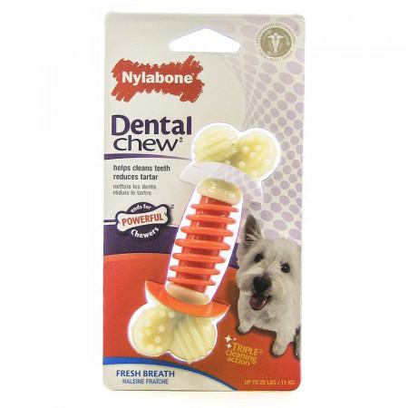 Nylabone Dental Chew Pro Action Dental Dog Chew - Bacon Flavor alternate img #1