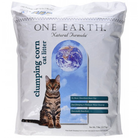 8in1 Pet One Earth Natural Clumping Corn Cat Litter alternate img #1