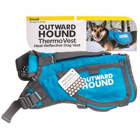 Outward Hound Thermovest Dog Vest - Blue alternate img #1