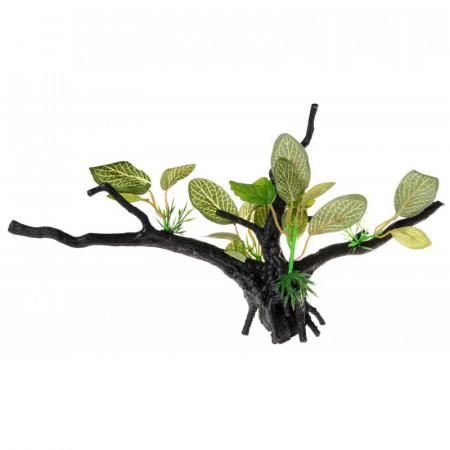 Penn Plax Driftwood Plant - Green - Wide alternate img #1