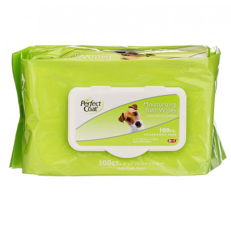 Perfect Coat Moisturizing Bath Wipes for Dogs alternate img #1
