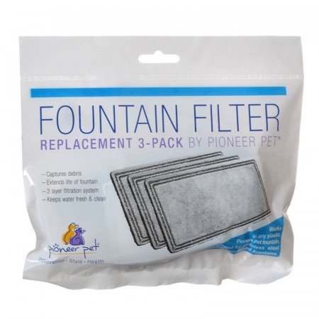 Pioneer Pet Replacement Filters for Plastic Raindrop and Fung Shui Fountains alternate img #1