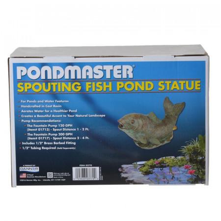 Pondmaster Resin Fish Spitter alternate img #1