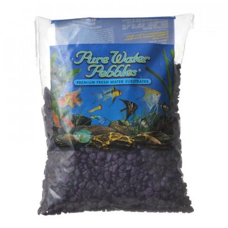 Pure Water Pebbles Aquarium Gravel - Purple Passion alternate img #1