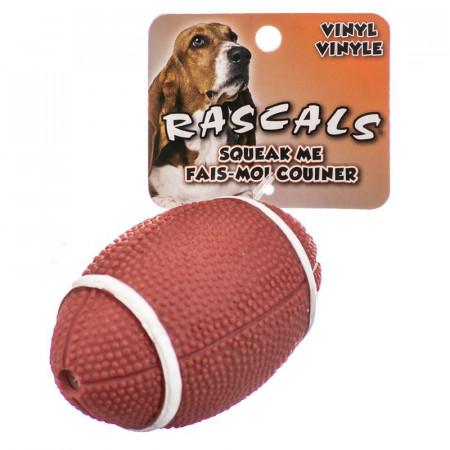 Coastal Pet Rascals Vinyl Football Dog Toy alternate img #1