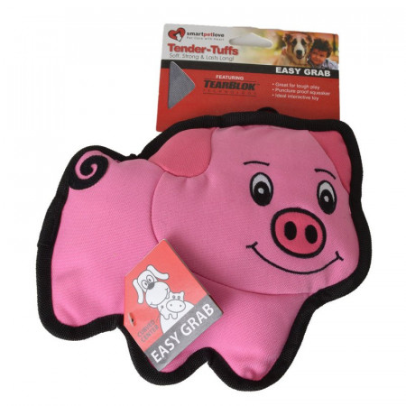 Smart Pet Love Simple Pink Pig Dog Toy alternate img #1