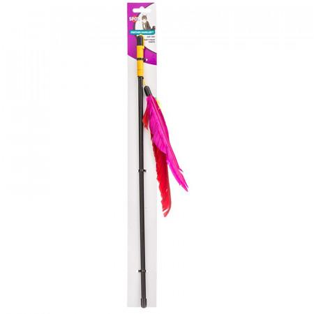 Spot Feather Dangler Cat Toy alternate img #1