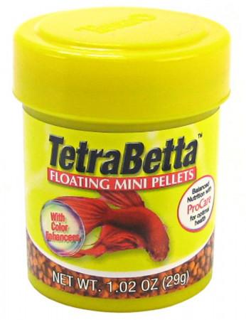 Tetra Betta Floating Mini Pellets alternate img #1