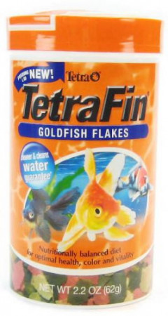 TetraFin Goldfish Flakes alternate img #1