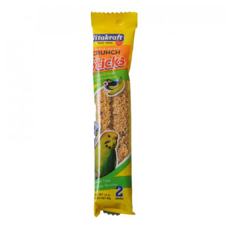 Vitakraft Sesame & Banana Sticks for Parakeets alternate img #1