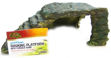 Zilla Reptile Basking Platform with Corner Ramp alternate img #1