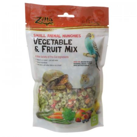 Zilla Small Animal Munchies - Vegetable & Fruit Mix alternate img #1