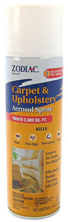 Zodiac Flea & Tick Carpet & Upholstery Aerosol Spray alternate img #1