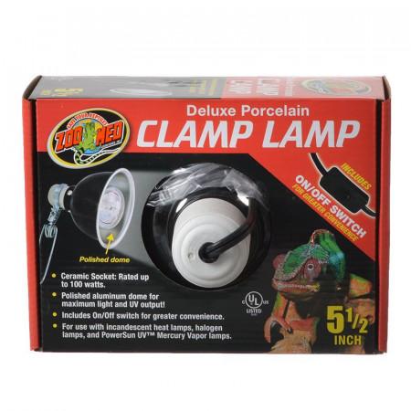 Zoo Med Deluxe Porcelain Clamp Lamp alternate img #1