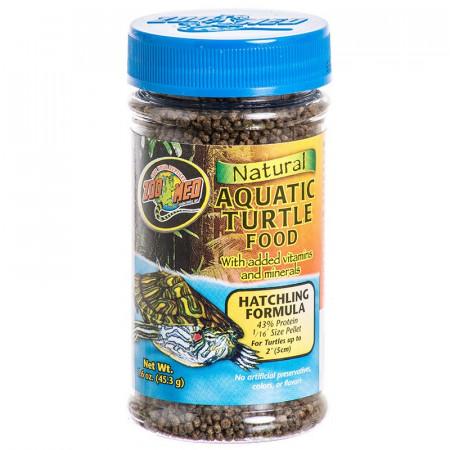 Zoo Med Natural Aquatic Turtle Food - Hatchling Formula alternate img #1