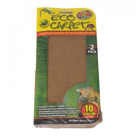 Zoo Med Reptile Eco Carpet Green or Brown alternate img #1