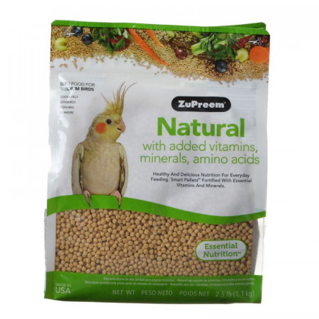 ZuPreem Natural Bird Food for Medium Birds alternate img #1