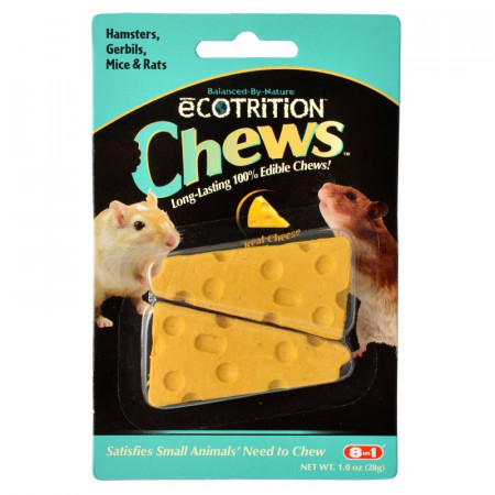 Ecotrition Chews for Small Pets Real Cheese Flavor alternate img #1