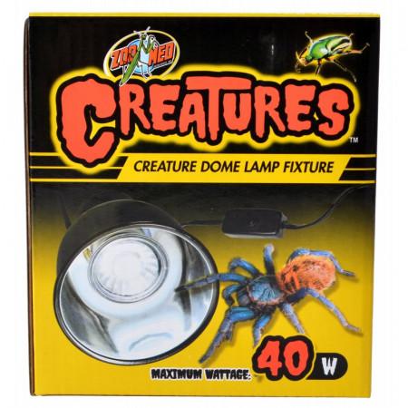 Zoo Med Creatures Creature Dome Lamp Fixture alternate img #1