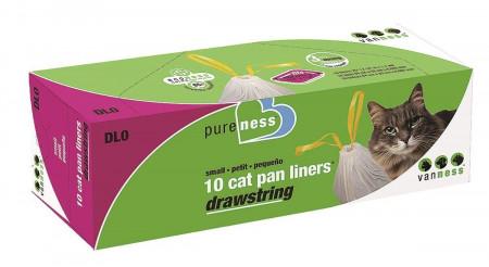 Van Ness PureNess Drawstring Cat Pan Liners Small alternate img #1