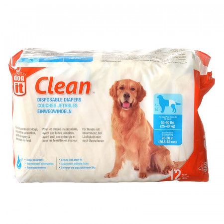 DogIt Clean Disposable Diapers - X-Large alternate img #1