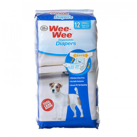 Four Paws Wee Wee Disposable Diapers - Small alternate img #1