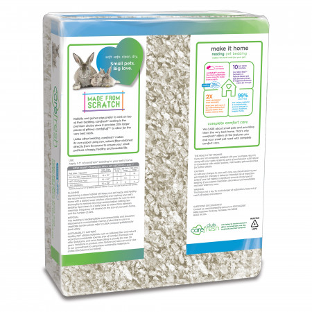 Carefresh Nesting Small Pet Bedding - White alternate img #2