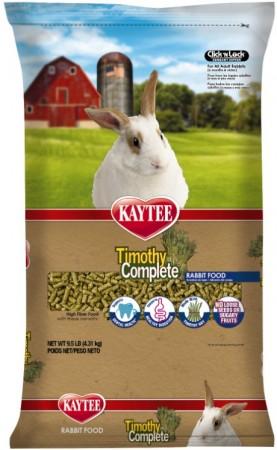 Kaytee Timothy Complete High Fiber Rabbit Food For General Health Support  alternate img #1