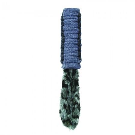 KONG Bendeez Tailz Dog Toy - Gray alternate img #2