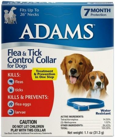 Adams Flea and Tick Collar For Dogs 7 Month Protection alternate img #1