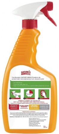Natures Miracle Just for Cats Orange Oxy Stain and Odor Remover alternate img #2