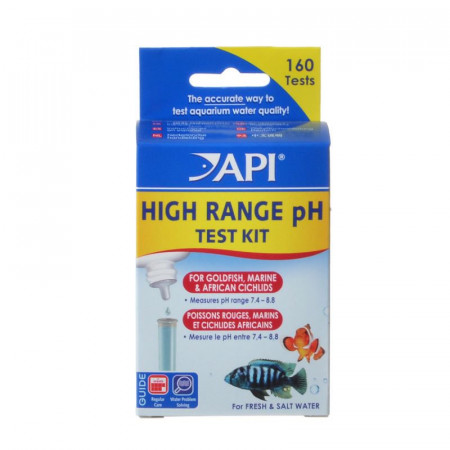 API High Range pH Test Kit for Fresh & Saltwater Aquariums alternate img #1