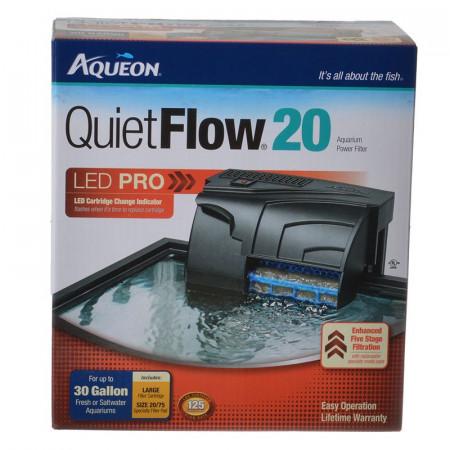 Aqueon QuietFlow LED Pro Aquarium Power Filter alternate img #1