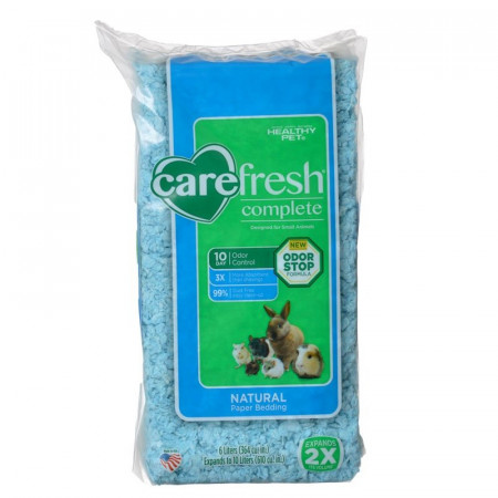 Carefresh Complete Natural Paper Pet Bedding - Blue alternate img #1