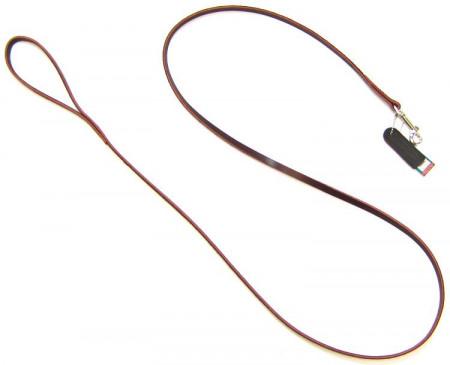 Circle T Latigo Leather Lead - 6' Long alternate img #1