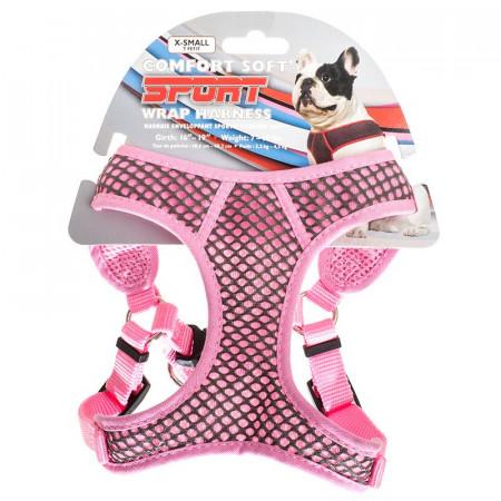 Coastal Pet Comfort Soft Sport Wrap Harness - Pink alternate img #1