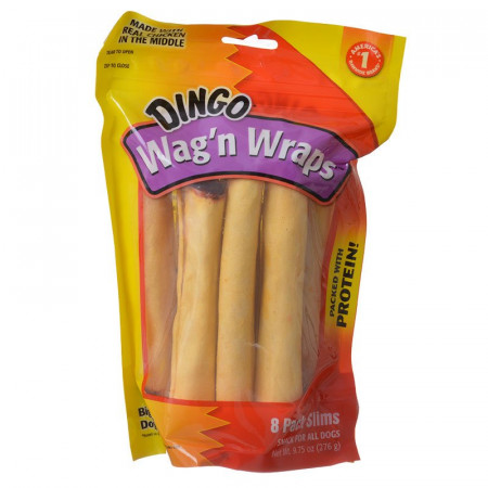 Dingo Wag'n Wraps (No China Ingredients) - Slims alternate img #1