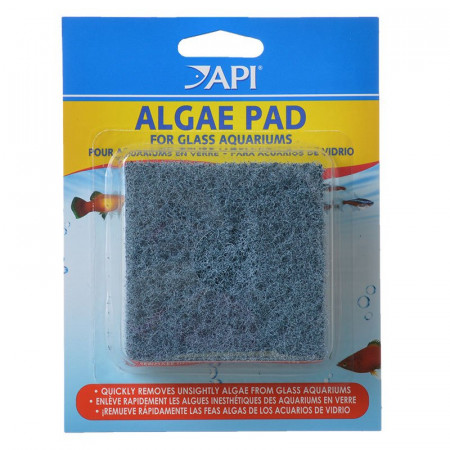 API Doc Wellfishs Hand Held Algae Pad for Glass Aquariums alternate img #1