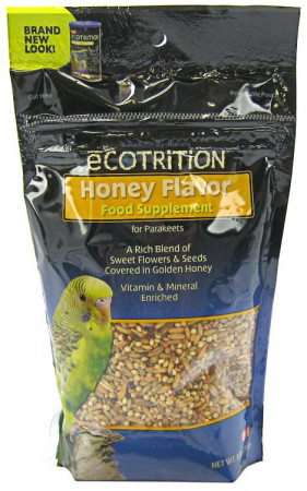 Ecotrition Honey Flavor Food Supplement for Parakeets alternate img #1