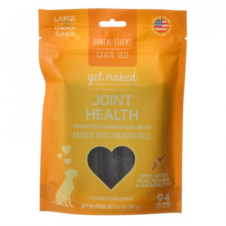 Get Naked Joint Health Adult Dog Treats - Large alternate img #1
