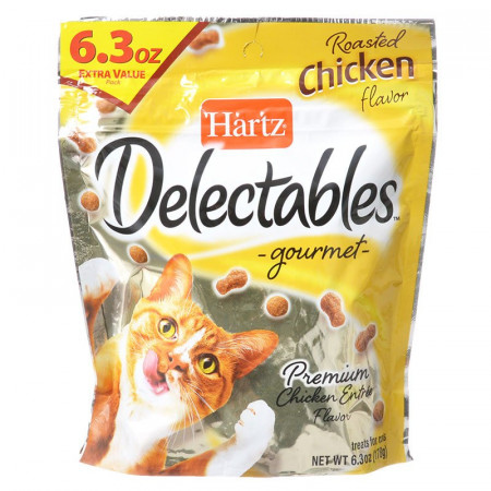 Hartz Delectables Gourmet Cat Treats - Roasted Chicken Flavor alternate img #1