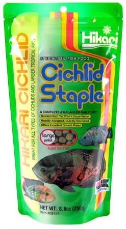 Hikari Cichlid Staple Floating Large Pellet Food alternate img #1