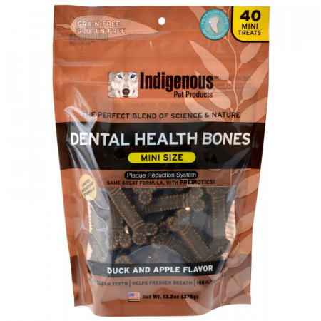 Indigenous Dental Health Mini Bones - Duck & Apple Flavor alternate img #1