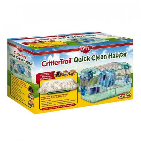 Kaytee CritterTrail Quick Clean Habitat alternate img #1