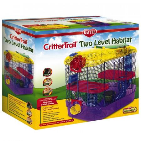 Kaytee CritterTrail Two Level Habitat alternate img #1