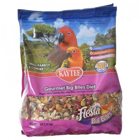 Kaytee Fiesta Gourmet Big Bites Diet - Small Parrot & Conure alternate img #1