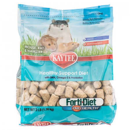 Kaytee Forti Diet Pro Health Healthy Support Diet - Mouse, Rat & Hamster Food alternate img #1