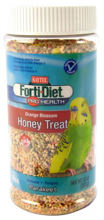 Kaytee Forti Diet Pro Health Orange Blossom Honey Treat for Parakeets alternate img #1
